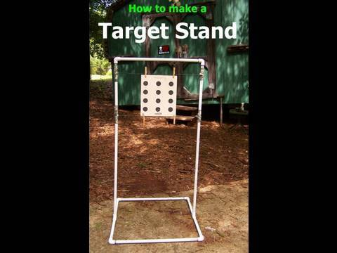 How To Build a Target Stand