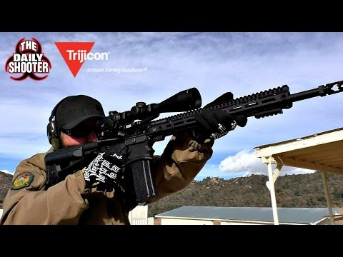 Trijicon AccuPower 4-16x50mm Scope Review and Testing