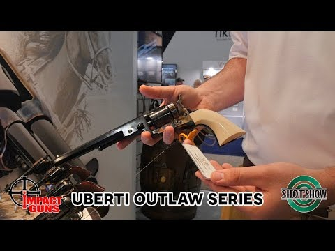 New Uberti Outlaw Series Pistols - Bonney & Wild Bill - SHOT Show 2019