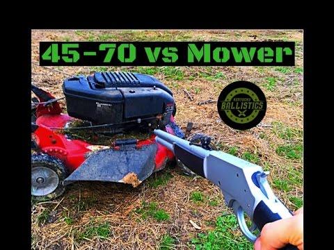 45-70 vs Mower