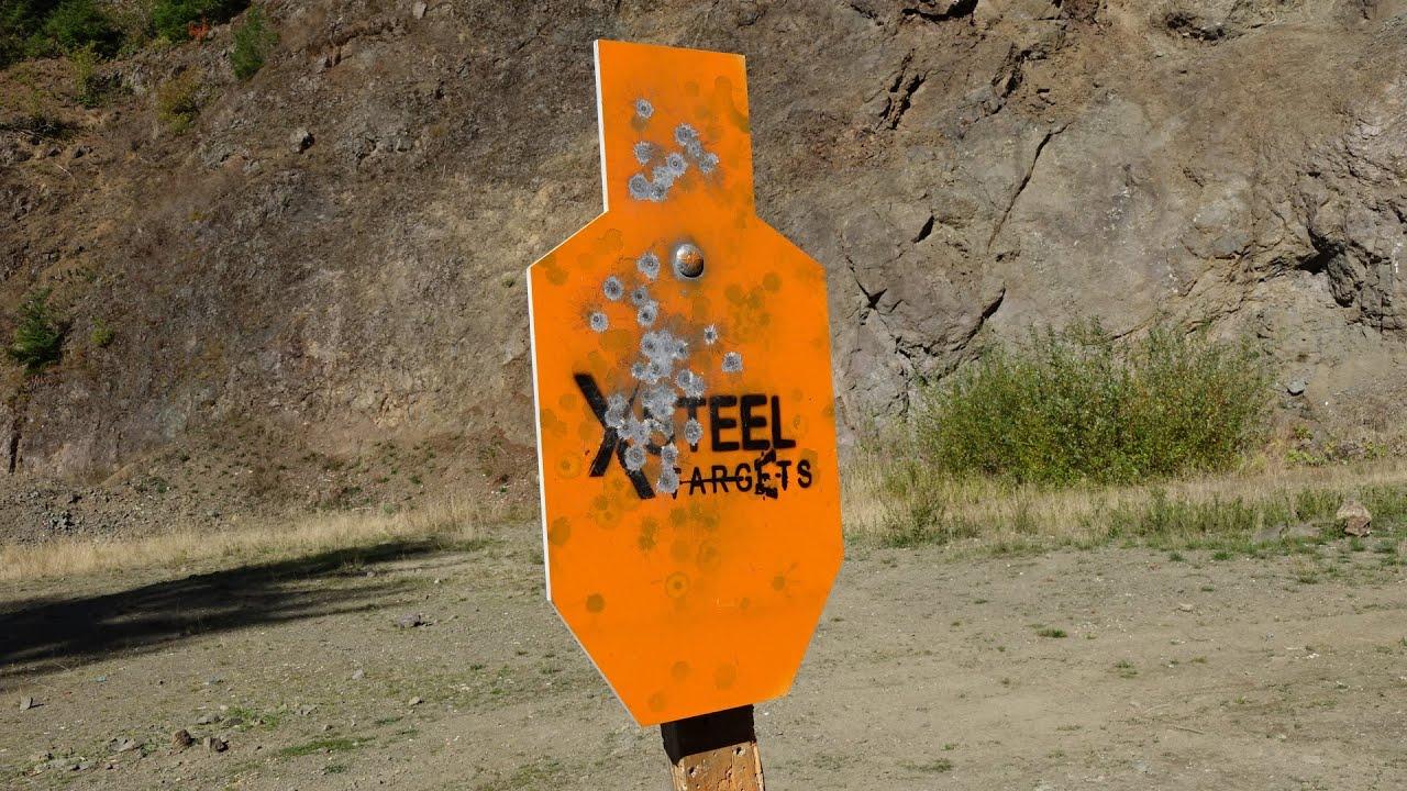 XSteel Targets AR500 A-C Zone IPSC Steel Target Review