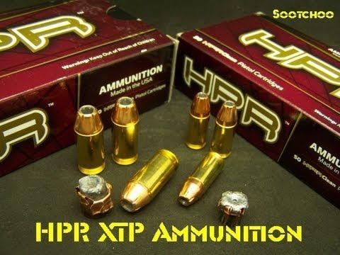 HPR XTP JHP Ammo Test  9mm / 45acp