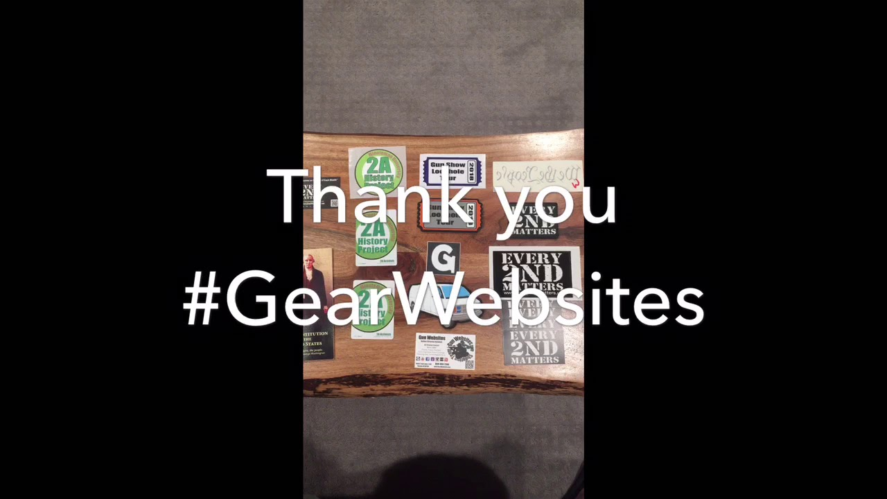 #GearWebsites Mail Call