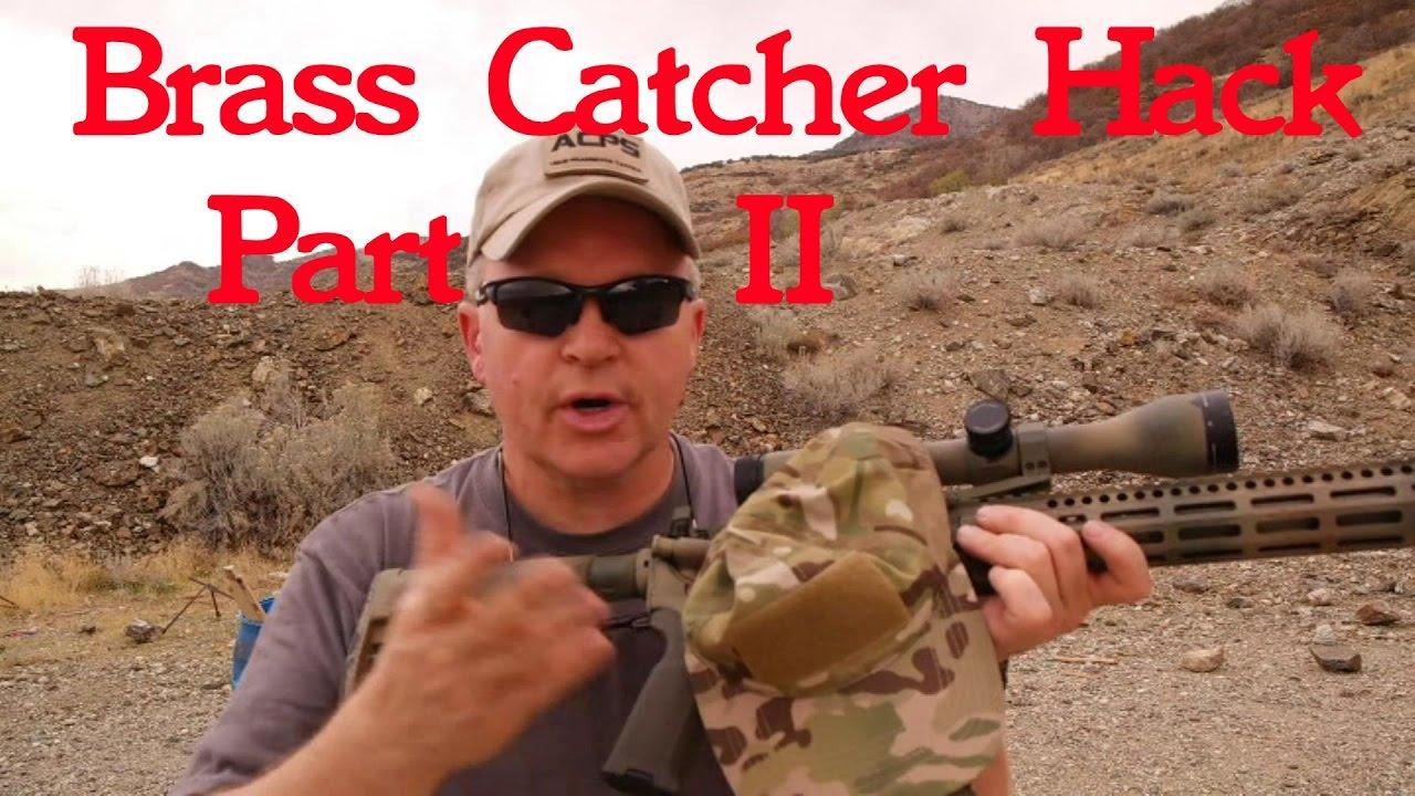 AR15 Brass Catcher Hack Part II