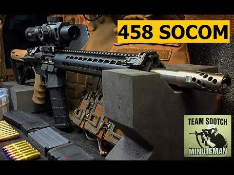 458 SOCOM  In Beast Mode!