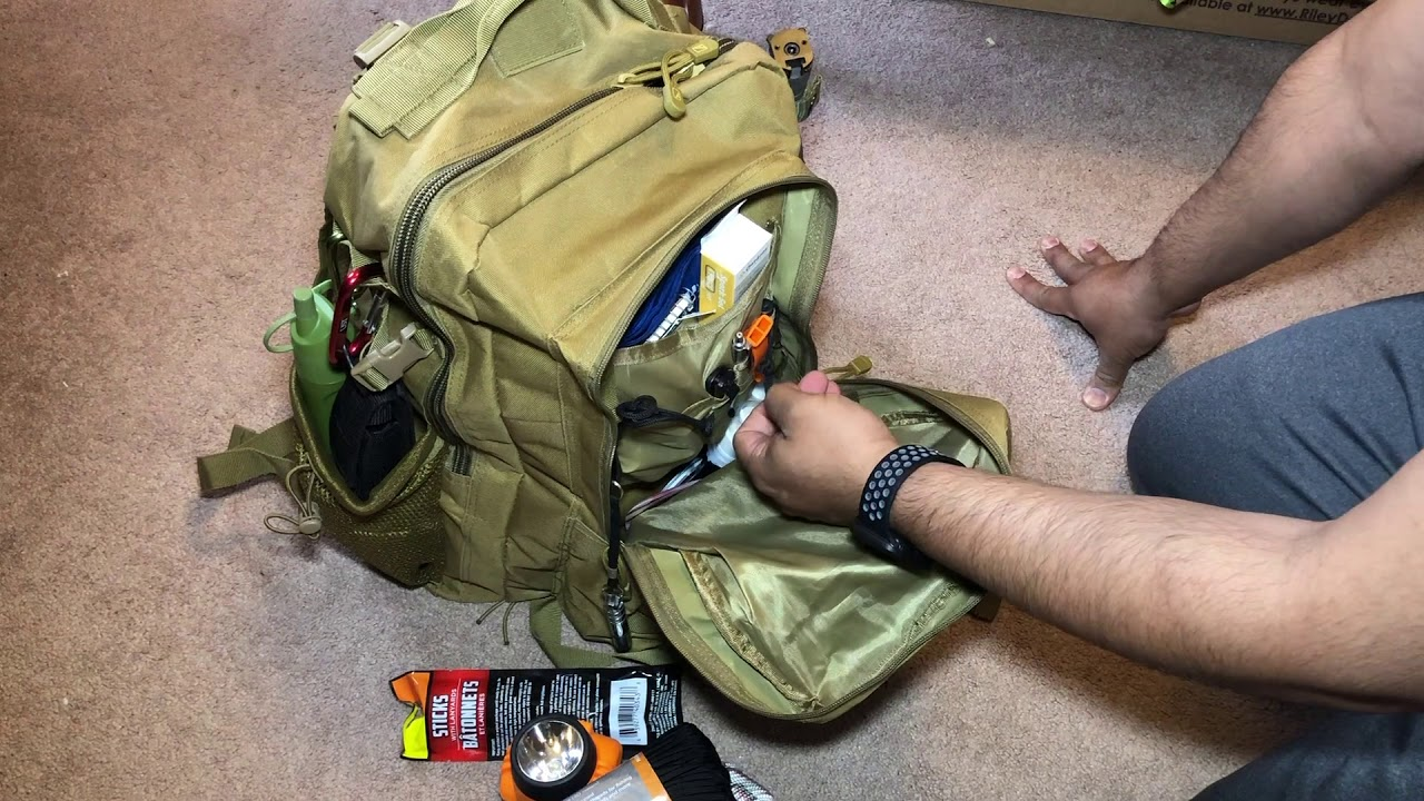 My Bugout Bag Alpha Outpost Edition