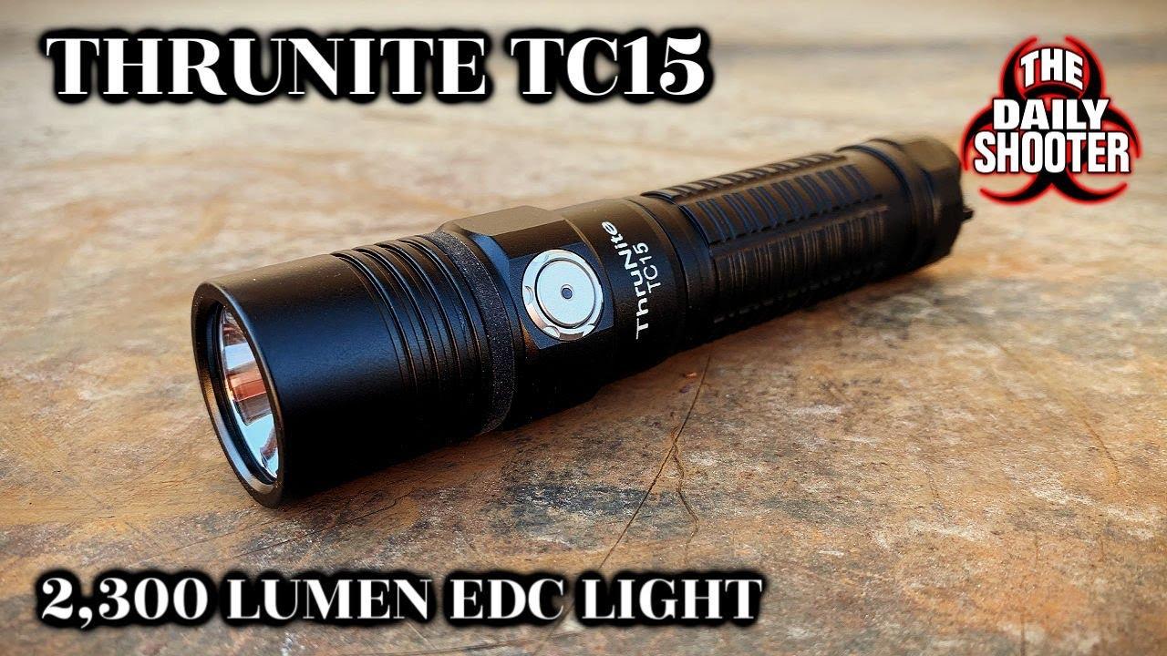 ThruNite TC15 2,300 Lumen EDC Flashlight