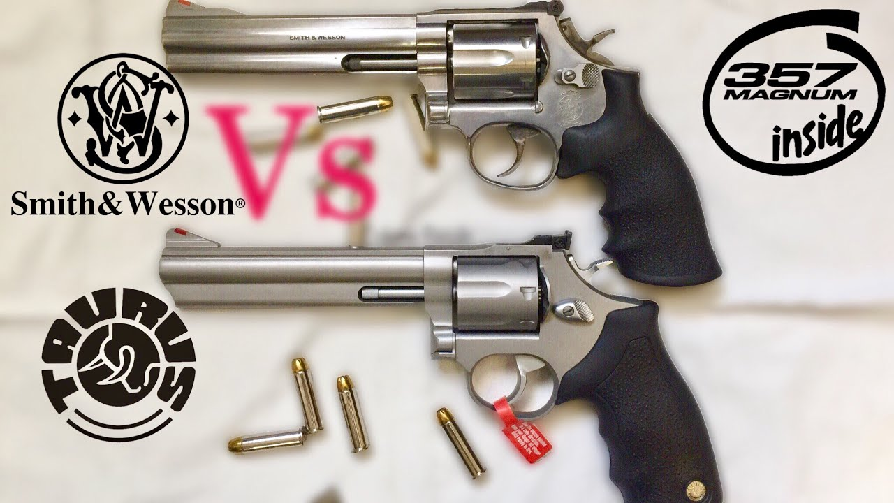 Smith & Wesson 686 vs Taurus 66