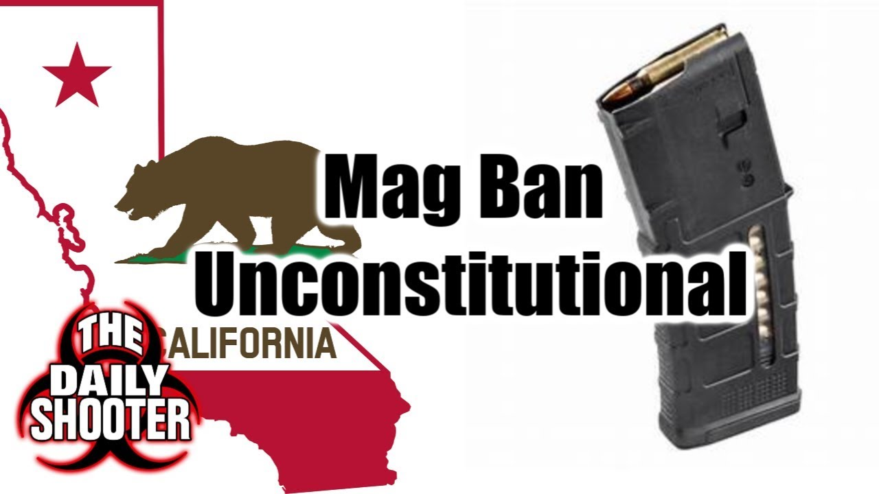 Standard and High Cap Mags Now LEGAL in California