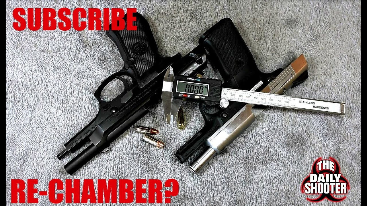 Part 2 Re chambering TEST The Same Round Over & Over bullet setback Federal 9mm