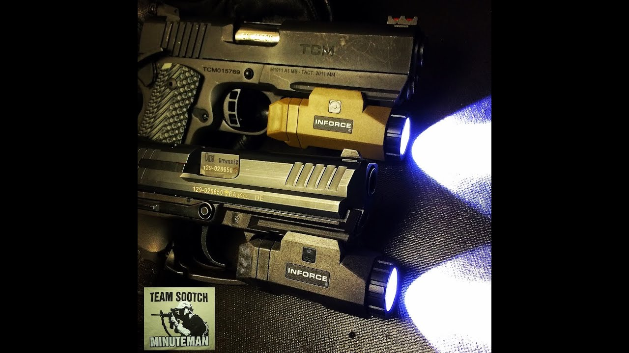 Inforce APL (Auto Pistol Light) Review