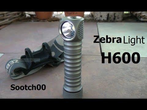 ZebraLight H600 750 Lumen Flashlight Headlamp