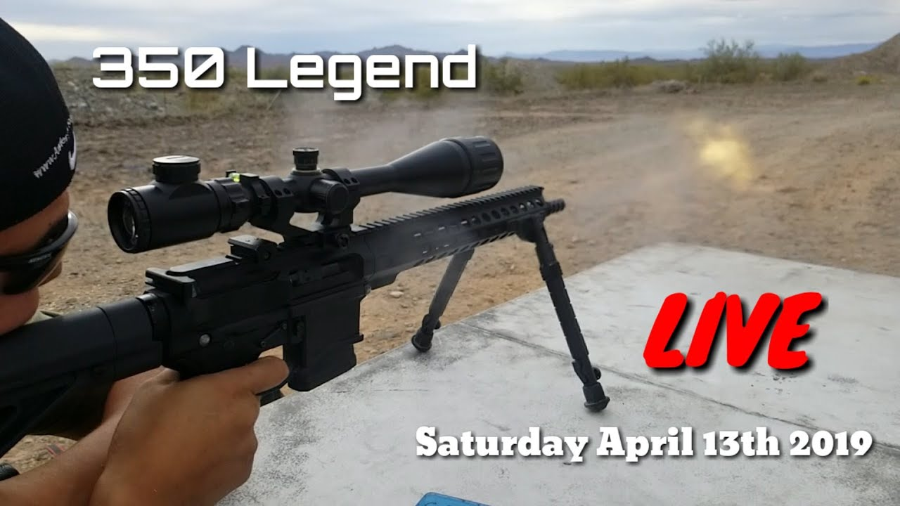 350 Legend!!! - Live At The Range - Saturday 4/13/19