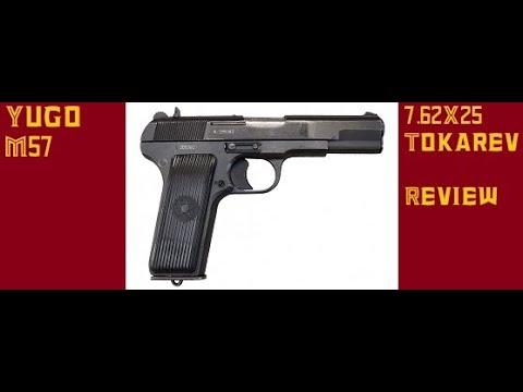 Yugo M57 7.62x25 review