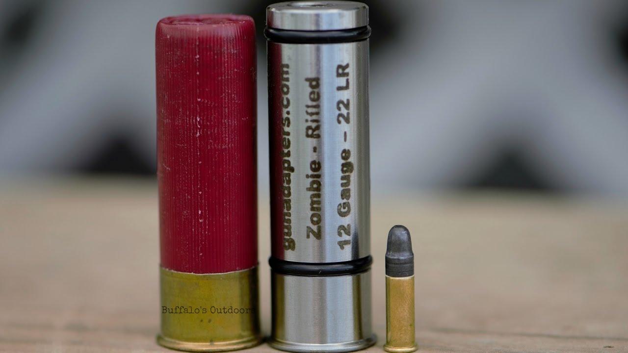 12 gauge to 20g to  410 to  22lr Shotgun Adapters