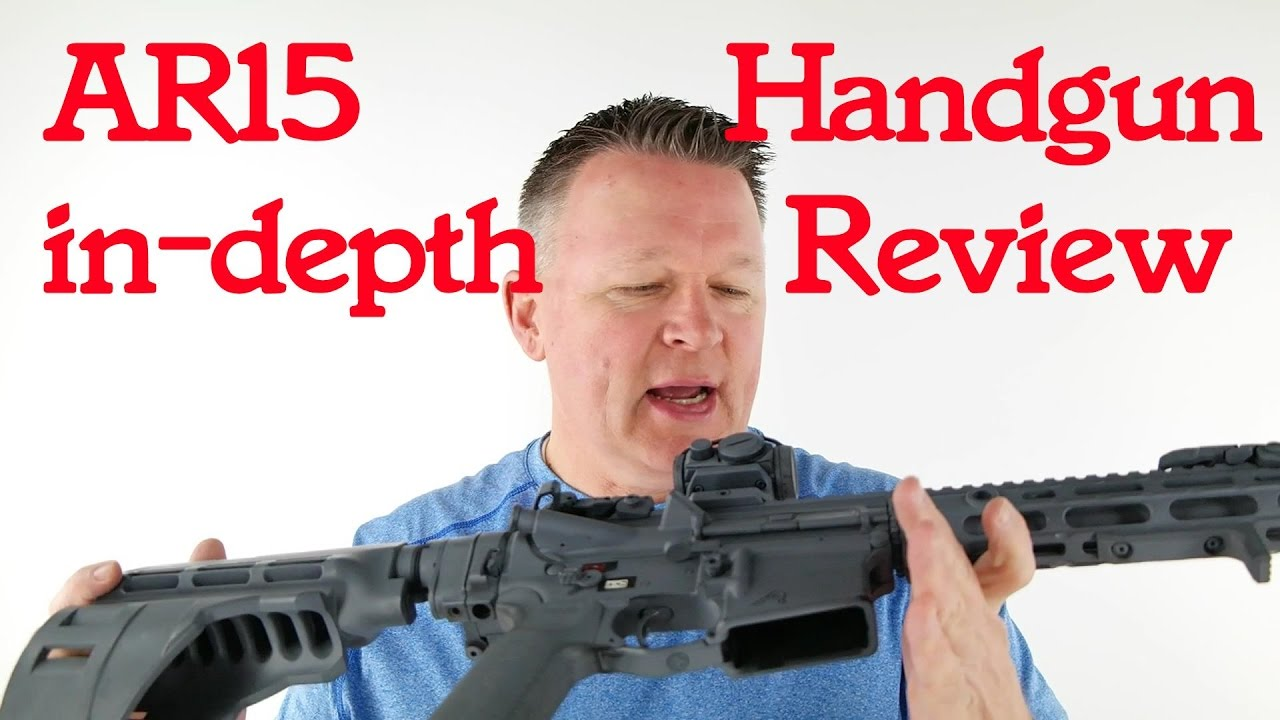 AR15 Pistol Review