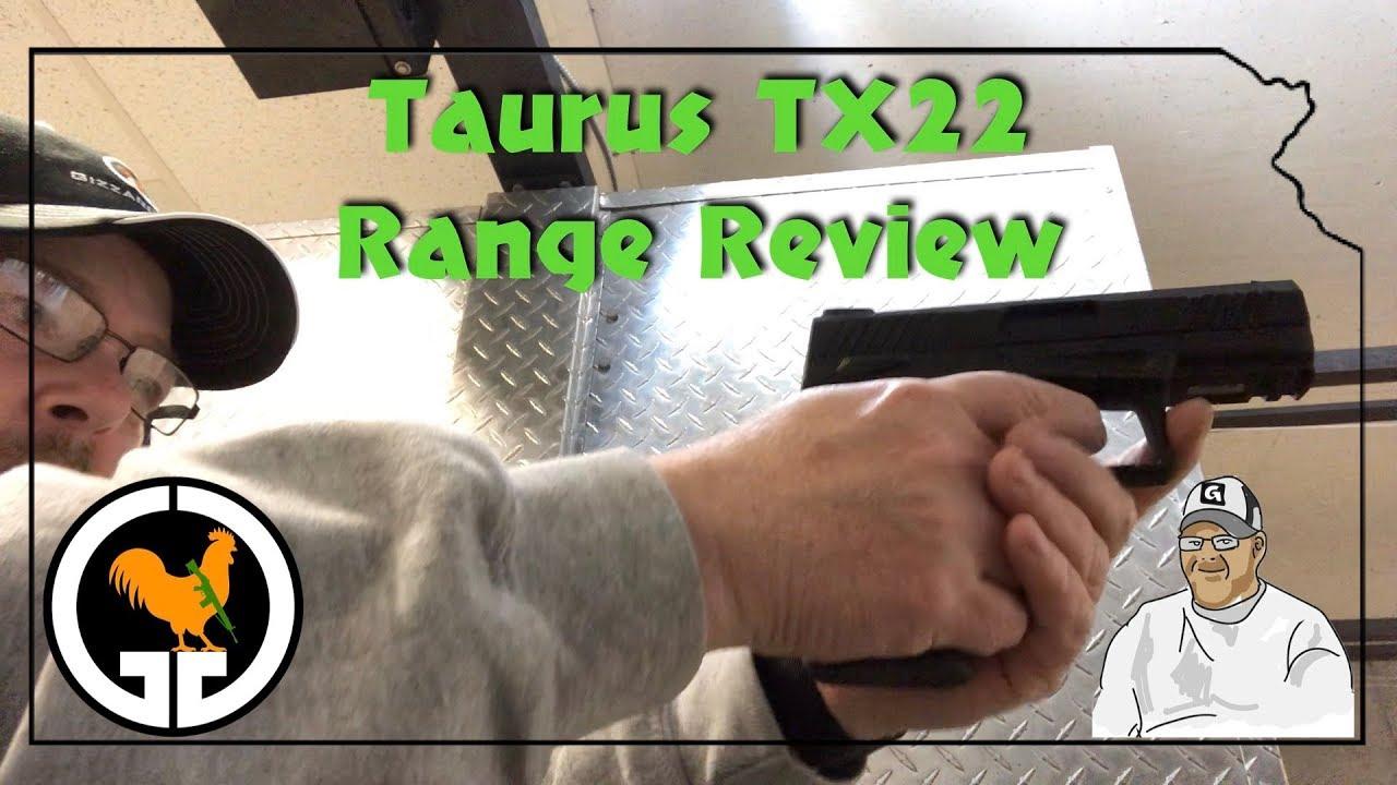 Taurus TX22 Range Review