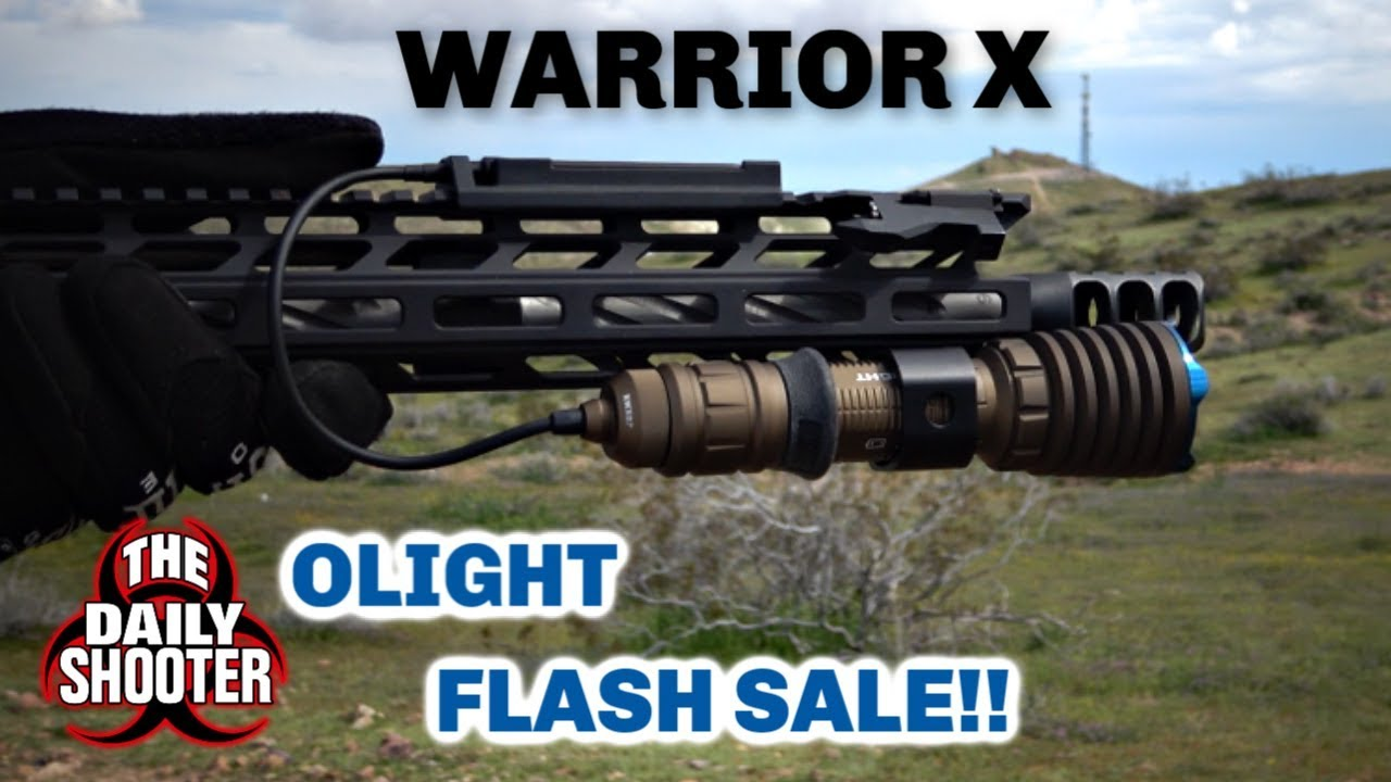 OLight Warrior X Desert Tan 24HR FLASH SALE!! Limited Edition