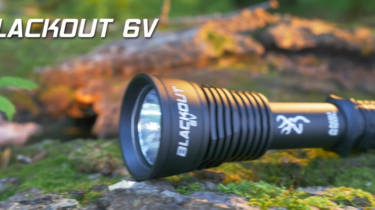 Blackout 6V Flashlight -- SHOT Show 2016