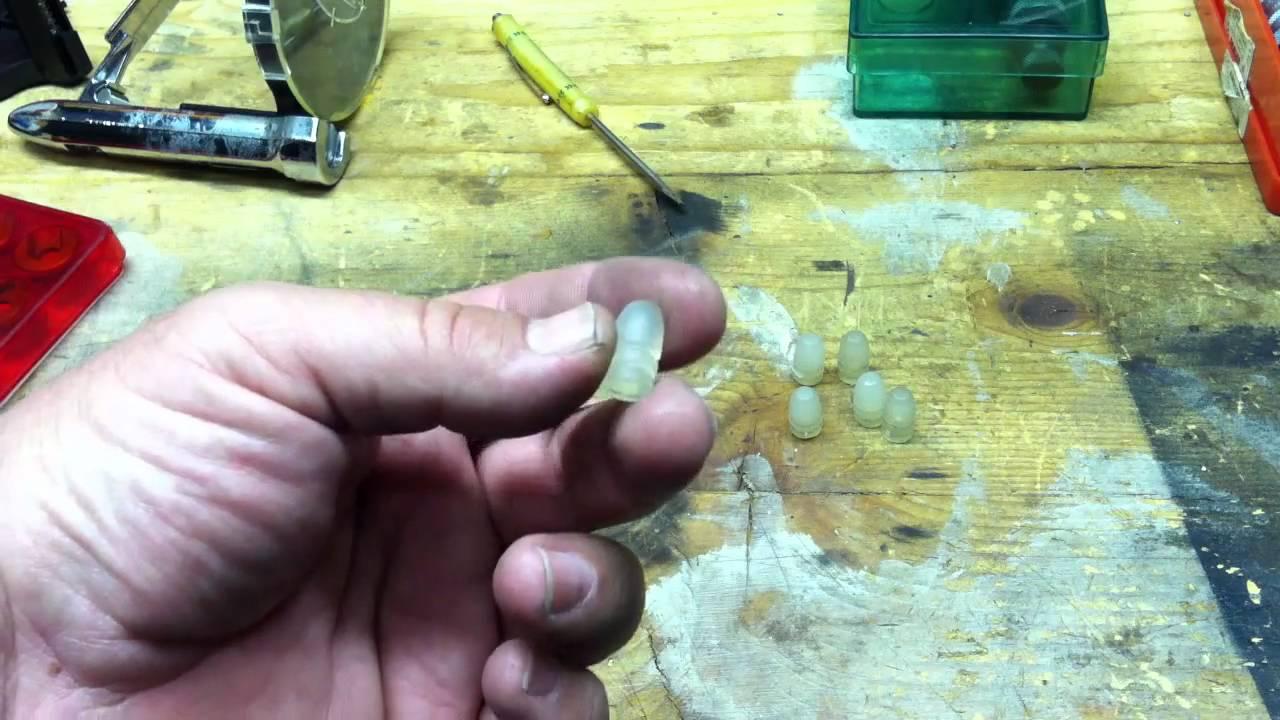 Hot Glue Bullet Casting