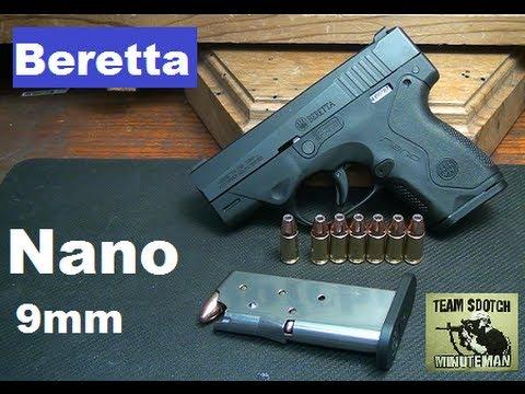 Beretta Nano 9mm Sub Compact Pistol