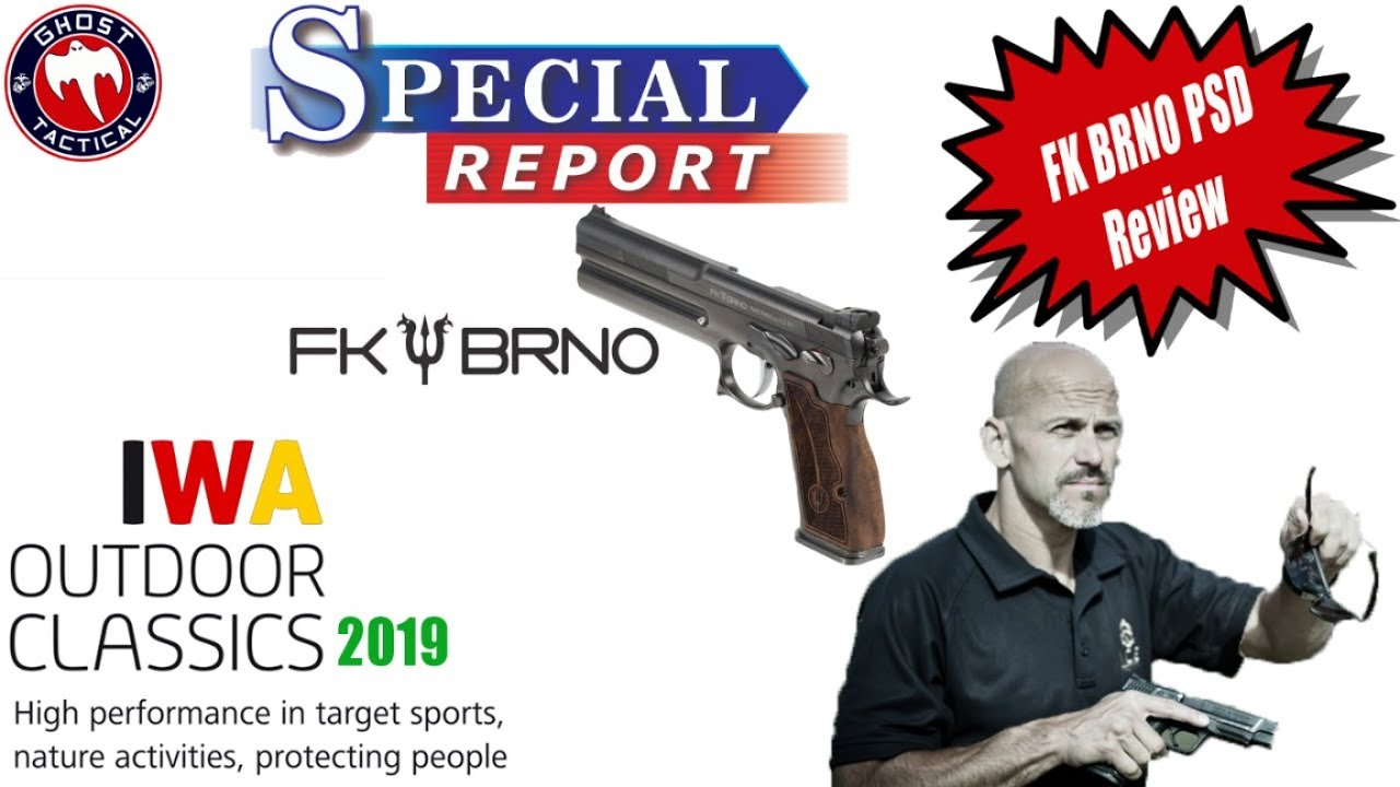 Rob Pincus reviews FK BRNO PSD from IWA 2019 in Germany