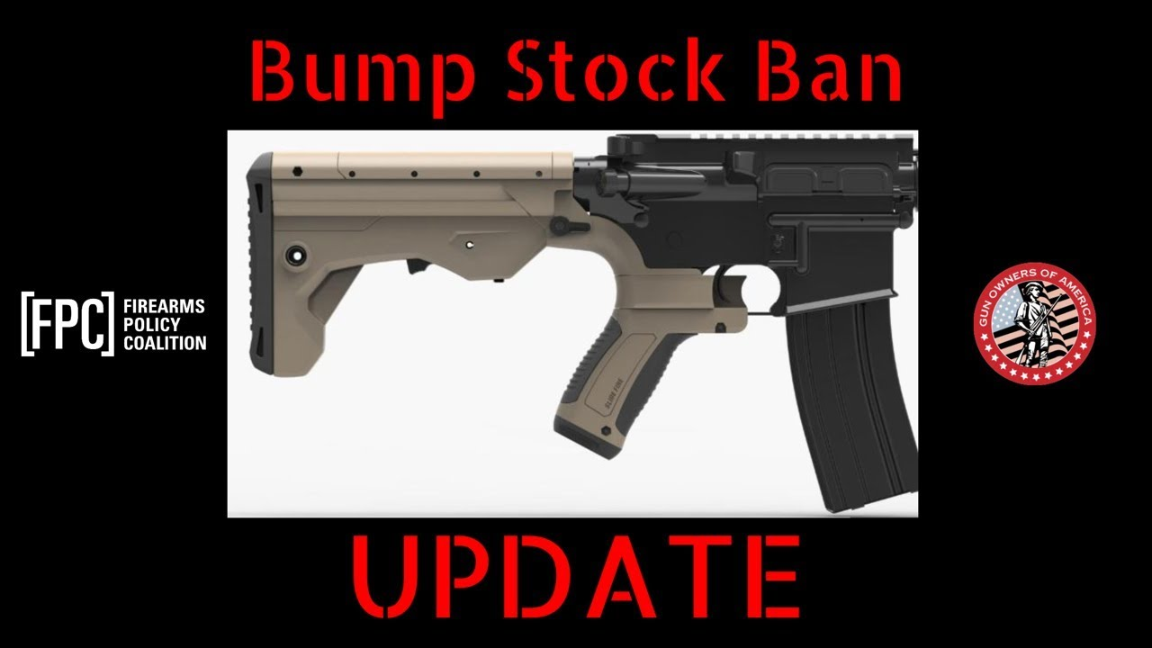 UPDATE_ Bump Stock Ban Begins Tomorrow, UNLESS...