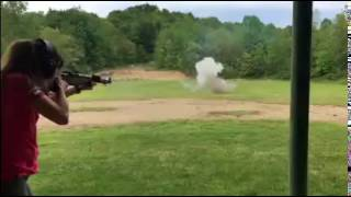 M1 Garand from 1943 vs Tannerite | Shortest A&F Video ever