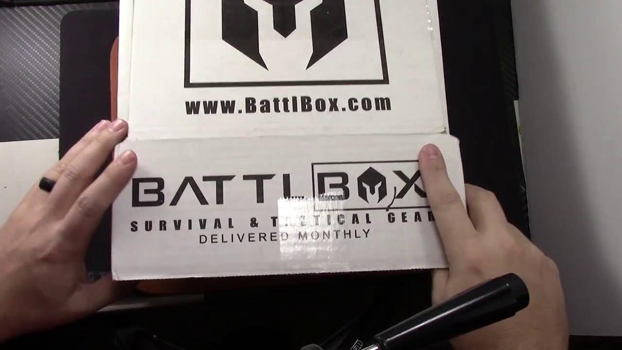 Battlbox Mission 32-Self Defense (October 2017)