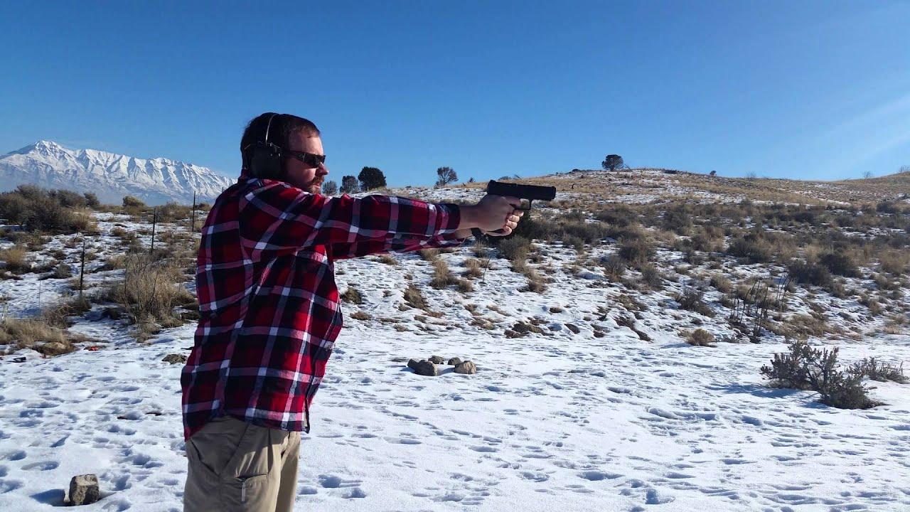 Shooting the Canik TP9SA (4k Resolution)