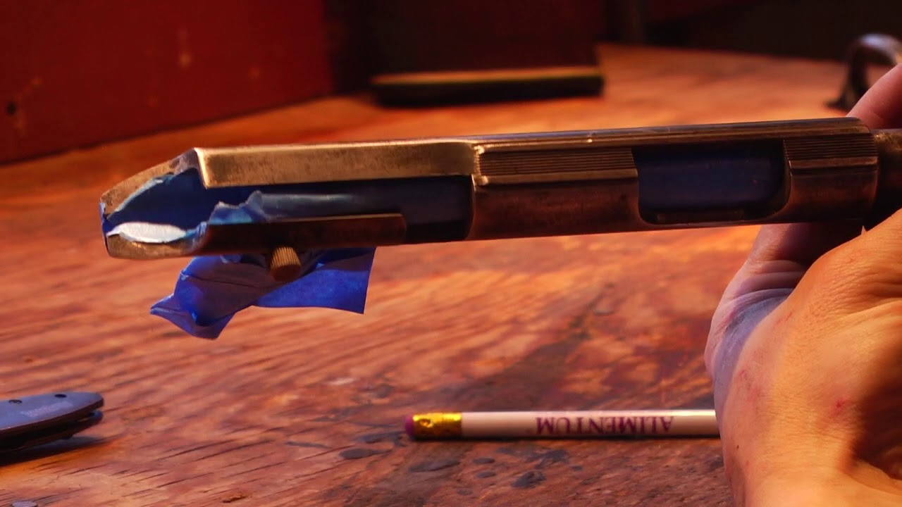 Repairing and Refinishing an Old Marlin .22 Rifle. Part 3 - DuraBlue Coating