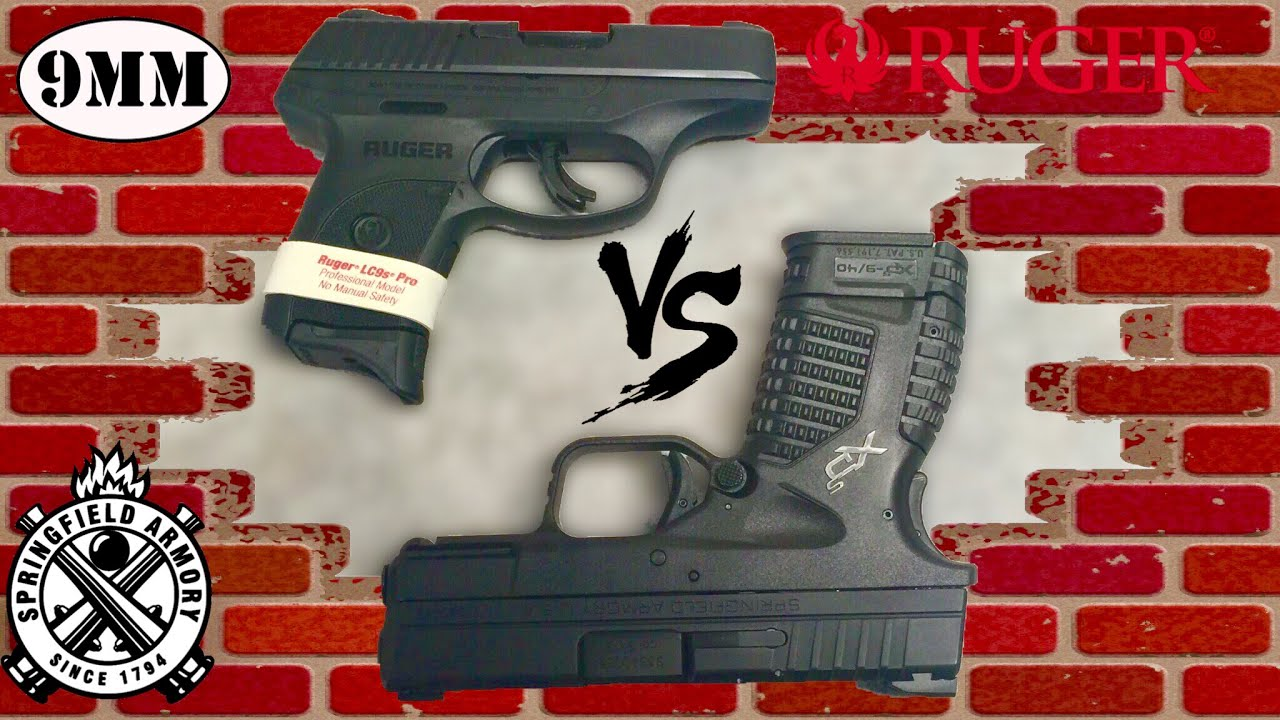 Ruger LC9s PRO vs Springfield XDS9
