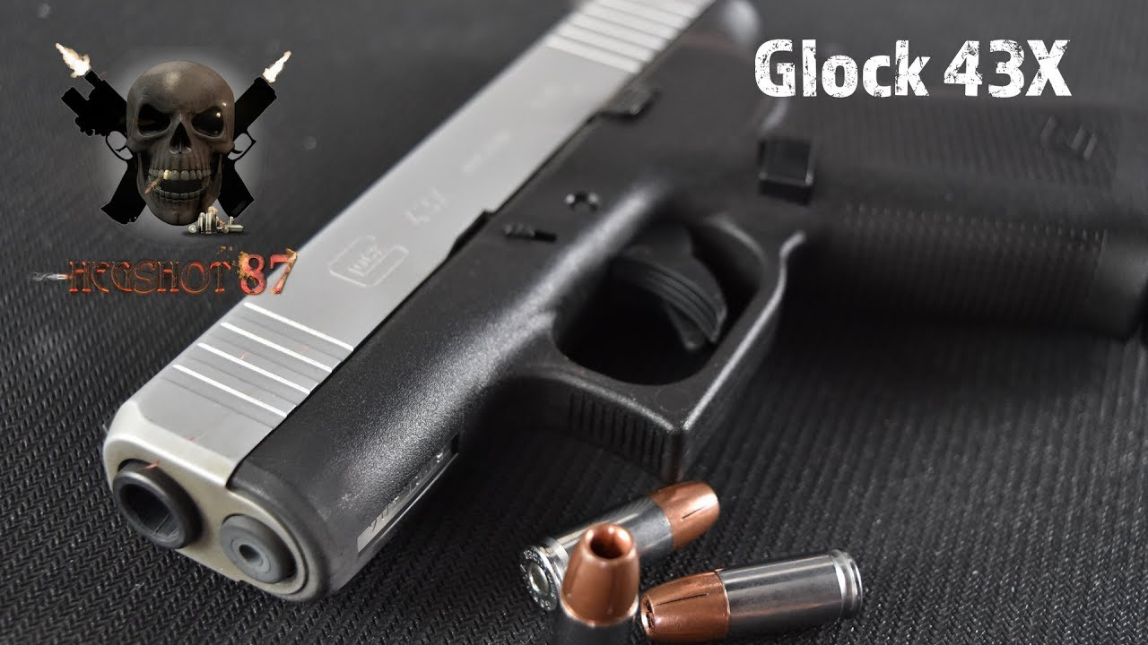 Glock 43X...New Slimline Glock 19???