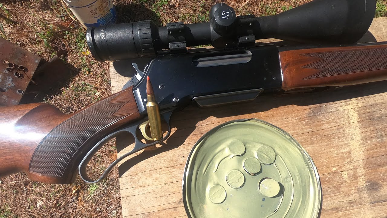 BLR Browning Lever action rifle, caliber 300 WSM