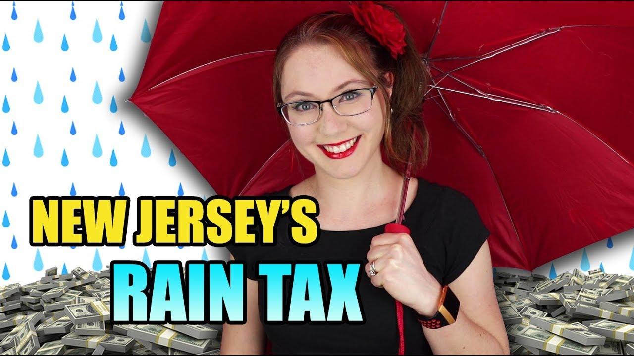 New Jersey Taxes the Rain