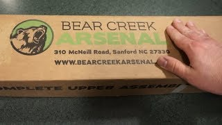 Bear Creek Arsenal 300 Blackout/AAC unboxing!