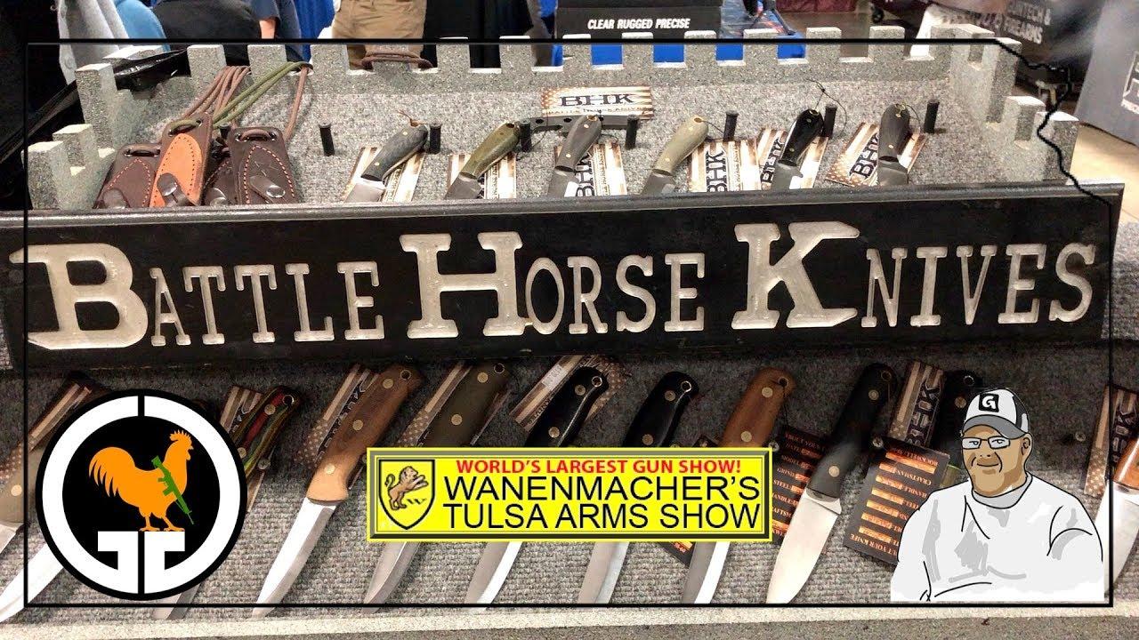 Battle Horse Knives