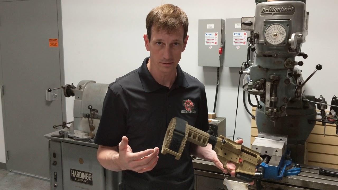 Fixed- Mag AR15 Pistol for Massachusetts! CGW