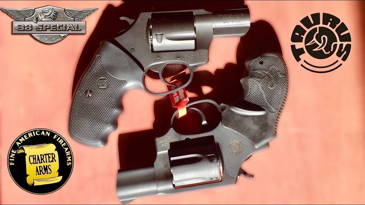 Charter Arms Ultralite vs Taurus Undercover .38spl. Plus P