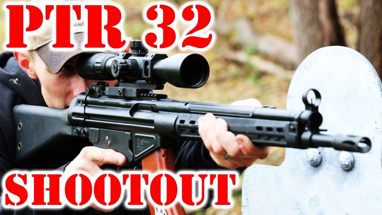 PTR 32 Shootout Test!
