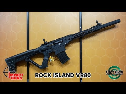Rock Island Armory VR80 Semi-Auto 12 Gauge Shotgun - SHOT