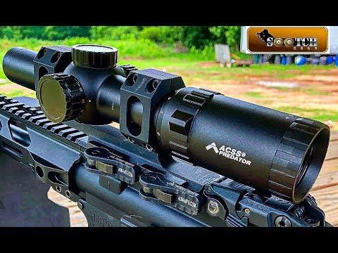 The Predator:  Primary Arms New 1-6x Scope