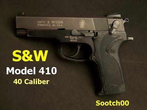 S&W Model 410  40 Cal Pistol
