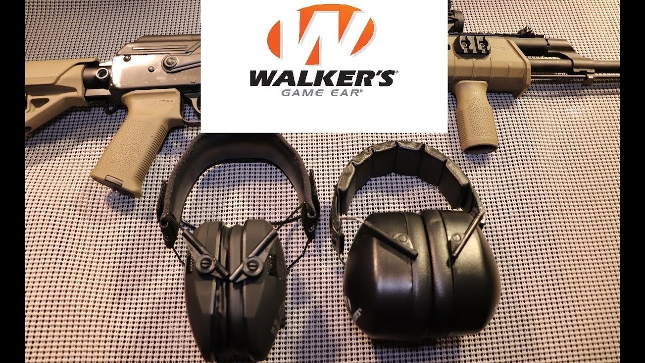 Inexpensive Walkers Hearing Protection