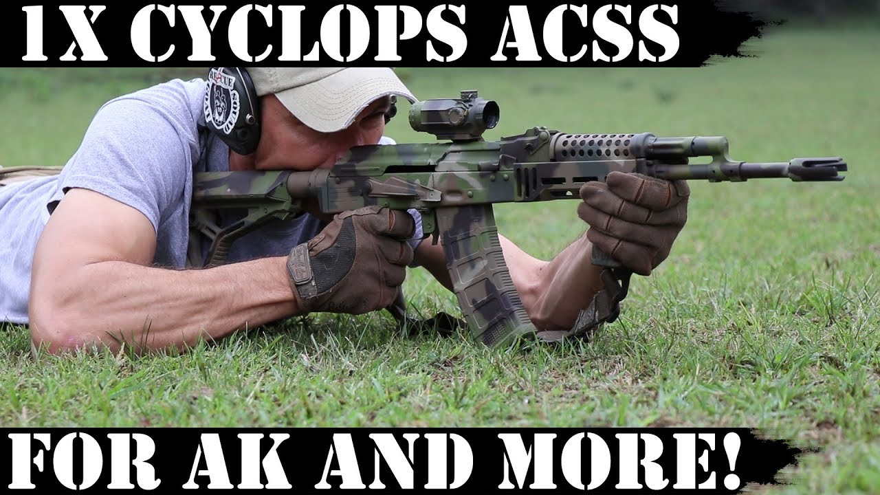 1x Cyclops ACSS Prism scope for AK and more!