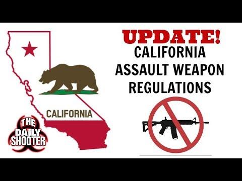 California Assault Weapon Ban UPDATE!