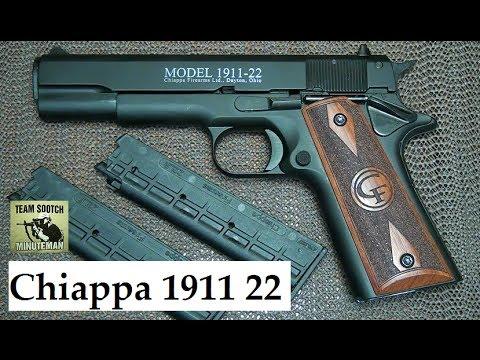 Chiappa 1911 22 Pistol Review