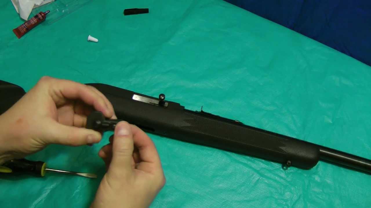 Marlin 795 Tech-Sights Installation