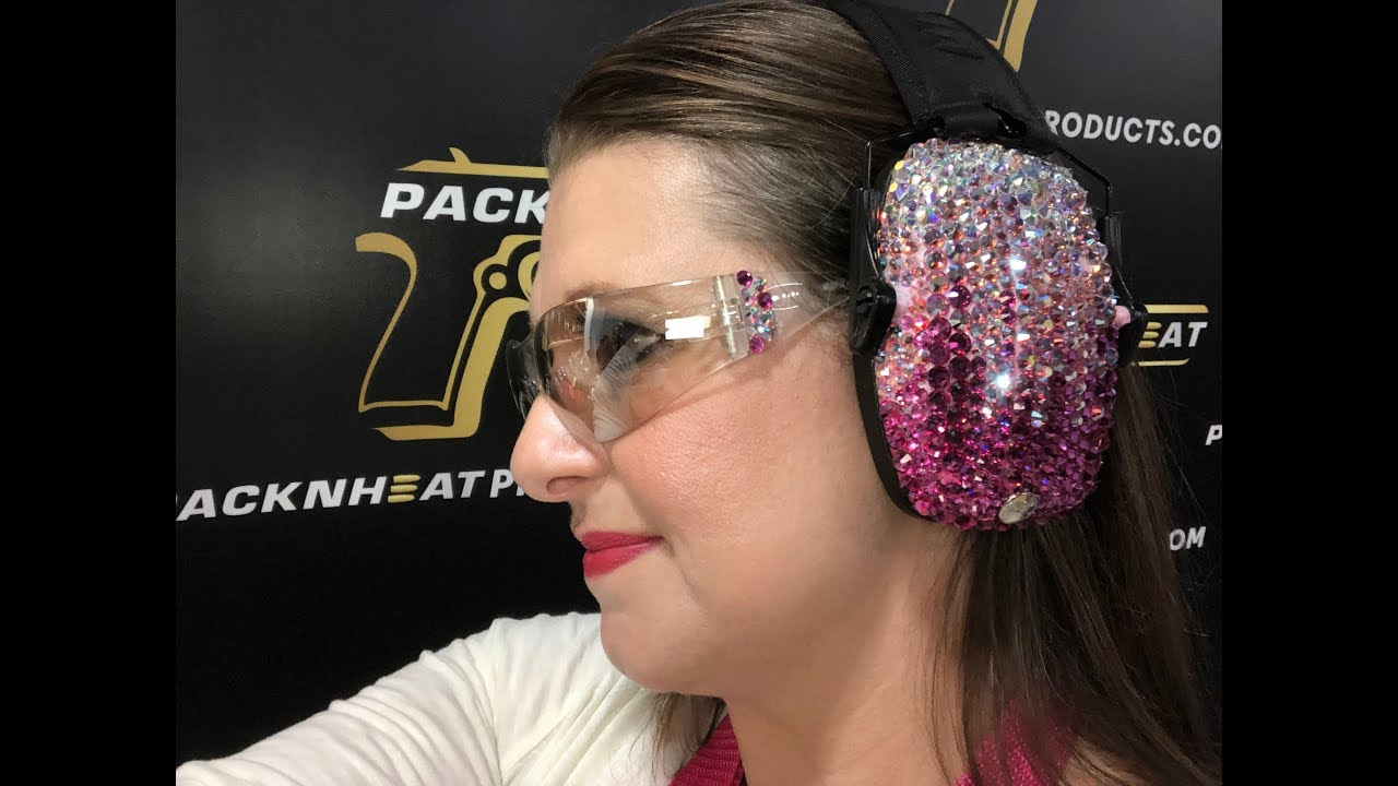 Pack'N Heat Crystal Ear Muffs with Eye Protection