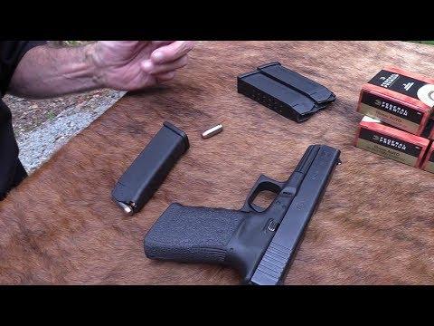 Glock 20 Big Game Hunt